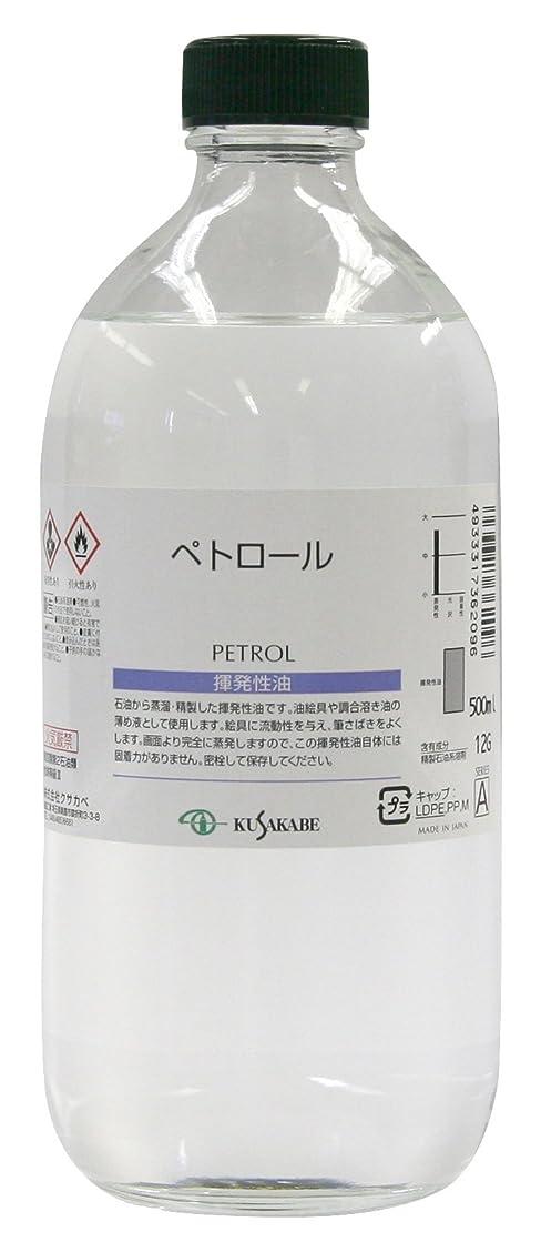 ソブリケットカリング横たわるクサカベ 画用液 ペトロール 500ml