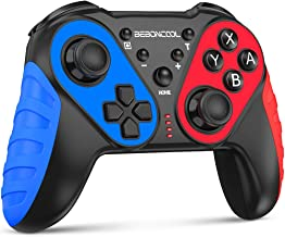 Wireless Switch Pro Controller for Nintendo Switch/Switch Lite, BEBONCOOL Remote Gamepad Joystick for Nintendo Switch Console, Switch Joypad with Turbo, 6-Axis Gyro and Dual Vibration