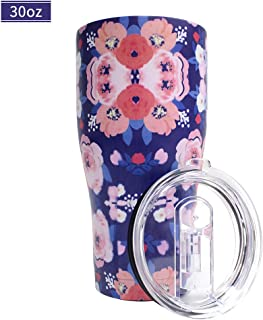 Deanurs 30 oz Stainless Steel Vacuum Insulated Tumbler with Slide Lid and Splash-Proof Design Metal Hot or Cold Travel Mug