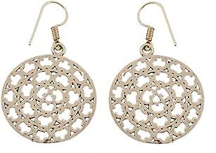 Tribal Ethnic Festival Indian Hoops Mandala Daily Wear Women Earrings