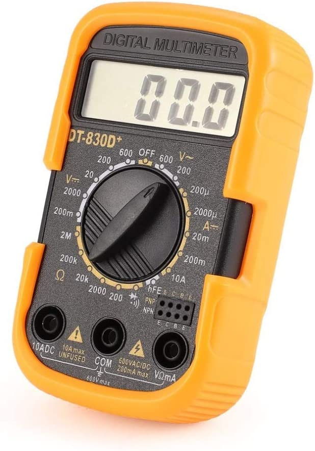 ZUQIEE Measuring Tester DT830D+ Mini Pocket Max 90% 1 year warranty OFF Multimeter Digital 1