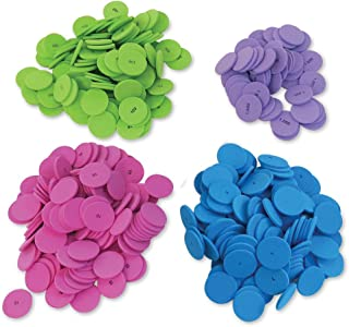 Place Value Chips, Set of 200 in 4 Values