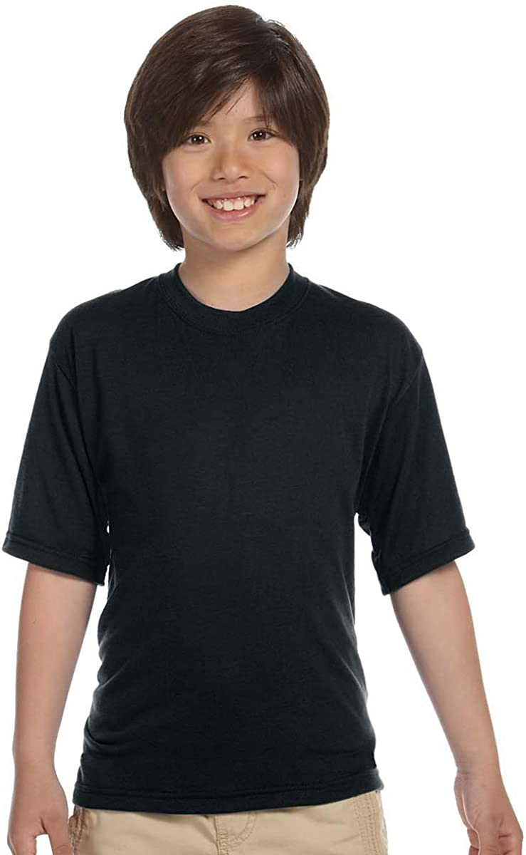 Jerzees Sport T-Shirt (21B) Black, XL (Pack of 10)