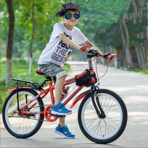 Ciclo de adiestramiento del niño de equilibrio de los niños de bicicleta tamaño ligero de las pequeñas y grandes dimensiones Niños Niñas Chicas Galopando la seguridad prima Mountain Bike, Small-RED