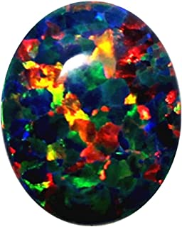 Ethiopian Blue Opal Stone full Fire Play Of Colors Opal Cabochon Stone Natural Pear 2.81 Carats Top Quality AAA Grade Opal Gemstone