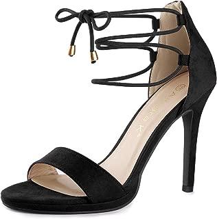 Women's Open Toe Stiletto High Heel Ankle Strap Sandals