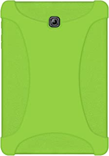 AMZER Rugged Silicone Skin Jelly Case for Samsung Galaxy Tab S2 8.0 SM-T710, Green (AMZ97956)