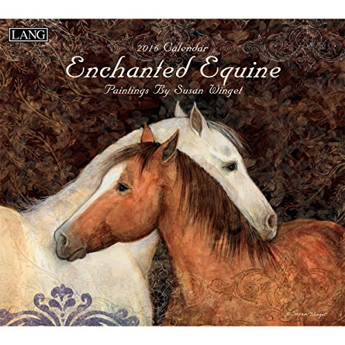 Lang Enchanted Equine 2016 Wall Calendar by Susan Winget, January 2016 to December 2016, 13.375 x 24 Inches (1001856)