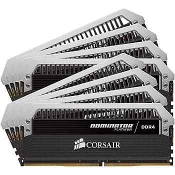 CORSAIR Dominator Platinum 64GB (8x8GB) DDR4 2666MHz C15 Desktop Memory