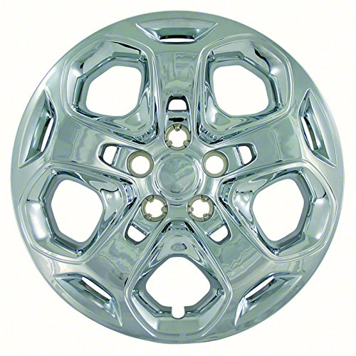 """2010-2012 Ford Fusion 17"""" CHROME Bolt On Hubcaps (Fits Steel Wheels ONLY) TCW..."""