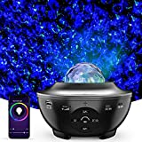 IYUT Upgrade Voice Control Star Projector, Smart Device App Control with Bluetooth Speaker Galaxy Projector Night Light...