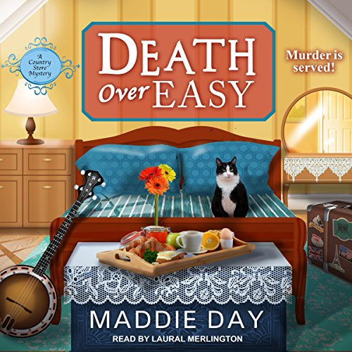 Death over Easy audiobook cover art