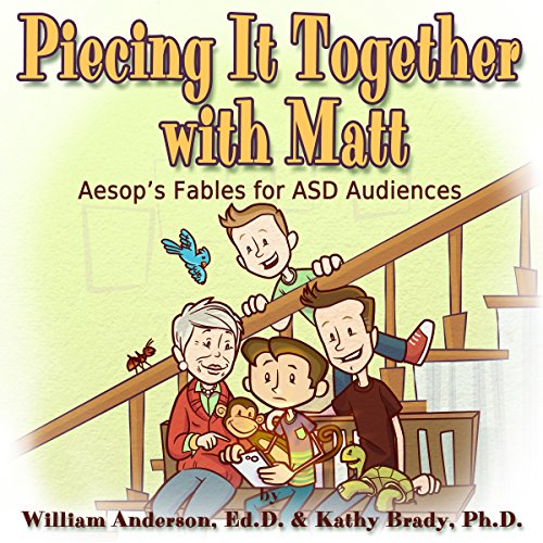 Piecing It Together with Matt: Aesop's Audio Fables for Learning audiobook cover art