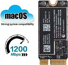 "WiFi Bluetooth Airport Wireless Card BCM94360CS2 802.11a/g/n/ac (2.4GHz/5GHz) Compatible for MacBook Air 13"" A1466 (2013, 2014, 2015, 2017) (661-7465, 661-7481, 653-0023), 11"" A1465 (2013, 2014, 2015)"