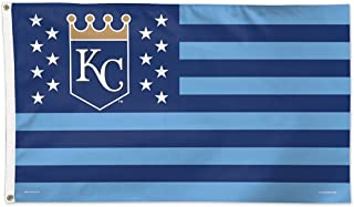 WinCraft MLB Kansas City Royals 02490115 Deluxe Flag, 3' x 5'