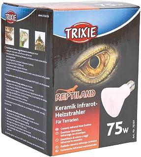 TRIXIE Calefactor infrarojo cerámico ø75 x 100 mm, 75 W, Reptiles
