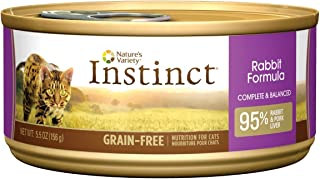 Natures Variety Instinct Rabbit Can Cat Food 12pk