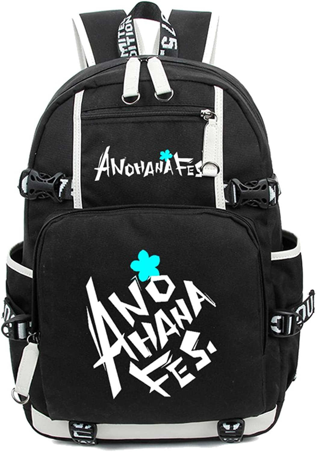 Gumstyle AnoHana Luminous Backpack Anime Book Bag Casual School Bag