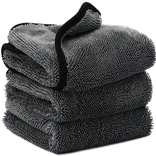 Mdsfe microvezel Twist autowashanddoek professionele autowasdroger, doeken voor het wassen van de auto a107 40x40cm-a107