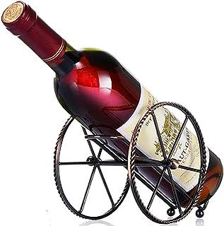 Anberotta ワインホルダー ワインラック ホルダー ワイン シャンパン ボトル スタンド 箱 ケース インテリア ディスプレイ W73 (ブロンズ)