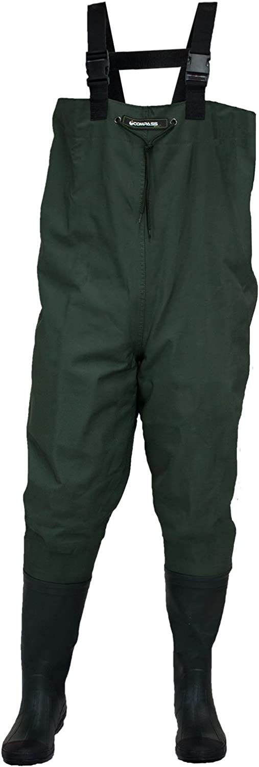 Compass 360 Oxbow Poly Rubber BTFT Chest Wader
