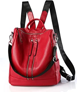 Backpack Women Casual Shoulder Bag Purse Fashion PU Leather Travel Backpack