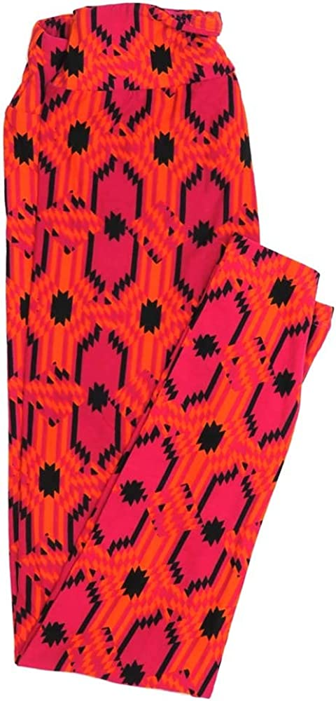 Lularoe One Size OS 70s Trippy Psychedelic Buttery Soft Womens Leggings fit Adult Sizes 2-10 OS-4350-AO