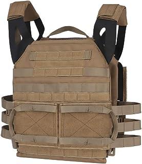 Tactical JPC MOLLE Vest, Adult Tactical CS Field Vest Outdoor Training Airsoft Protective Vest