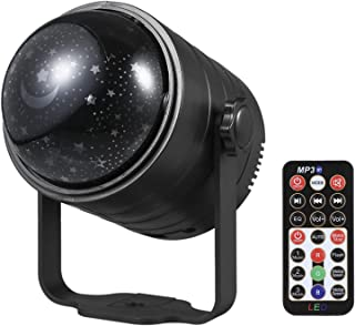 Yorten USB Powered Disco Ball Light with Remote Control 6 Colors Party Lights BT Music Speaker Sound Activated Strobe Ligh...