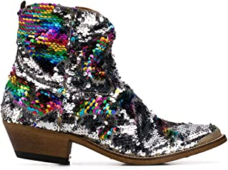 Luxury Fashion Womens Ankle Boots Summer Silver