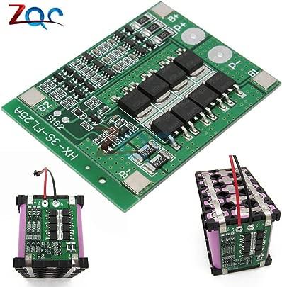 3S 25A Li-Ion 18650 BMS PCM BatterieSchutz-Board BMS PCM mit Balance f r Li-Ion Lipo Akku-Cell Pack Modul 12V