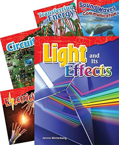 Teacher Created Materials - Science Readers: Content and Literacy: Physical Science - 5 Book Set - Grade 4 - Guided Reading Level P - S