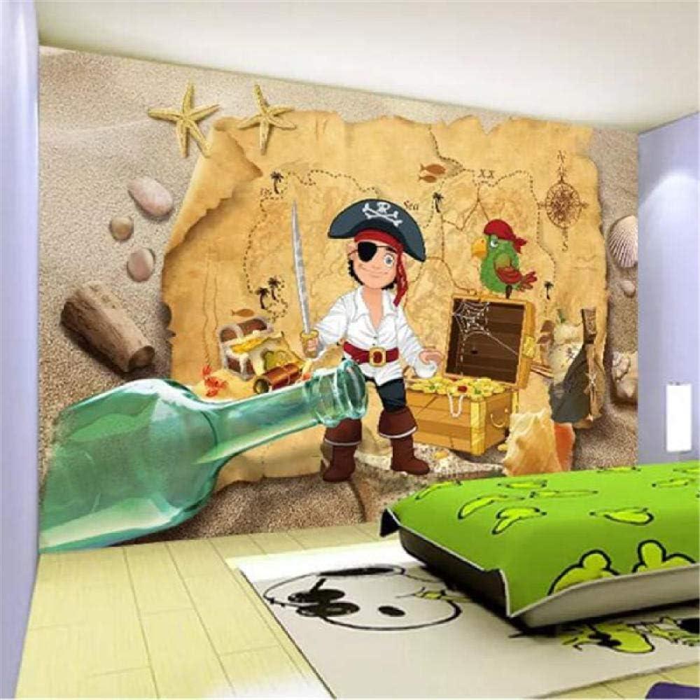 Custom Wallpaper 3D Photo Purchase Bargain sale Mural Room Backg Pirate Children Hedge