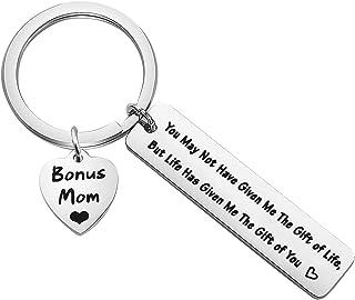 TGBJE Stepmom Gift Stepmother Gift Bonus Mom Gift Thank You Gift for Bonus Stepmom Jewelry Birthday Gift