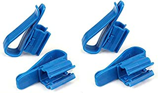 Plastic Adjustable Hose Clip Auto Siphon Clamp,Multifunction Adjustable Water Pipe Tube Hose Holder(Pack of 4)