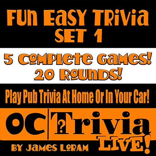 Fun Easy Trivia Set 1 audiobook cover art