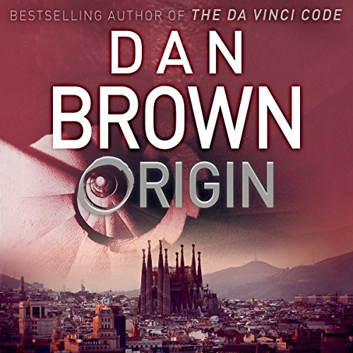 Origin audiobook cover art