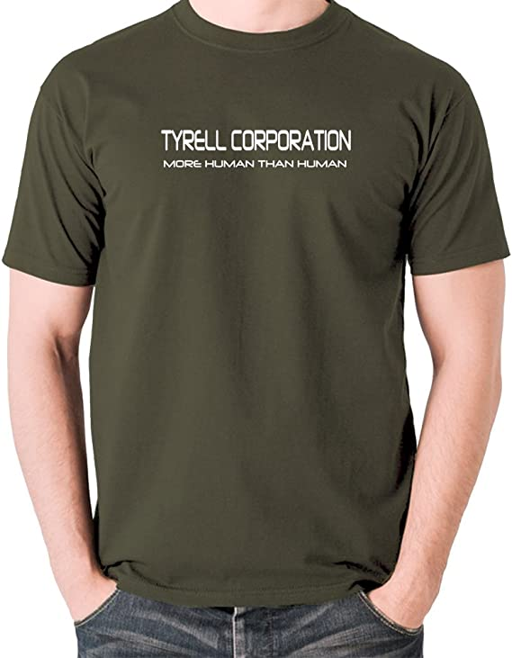 BLADE RUNNER UNOFFICIAL TYRELL CORPORATION REPLICANTS 3//4 SLEEVE BASEBALL TEE