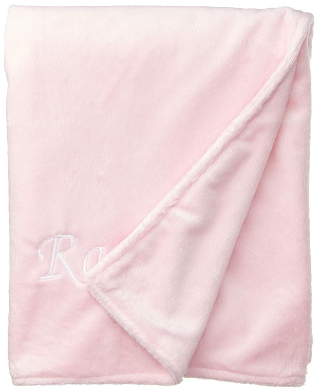 Baby DollBedding Personalized Minky Blanket, Pink Rachel