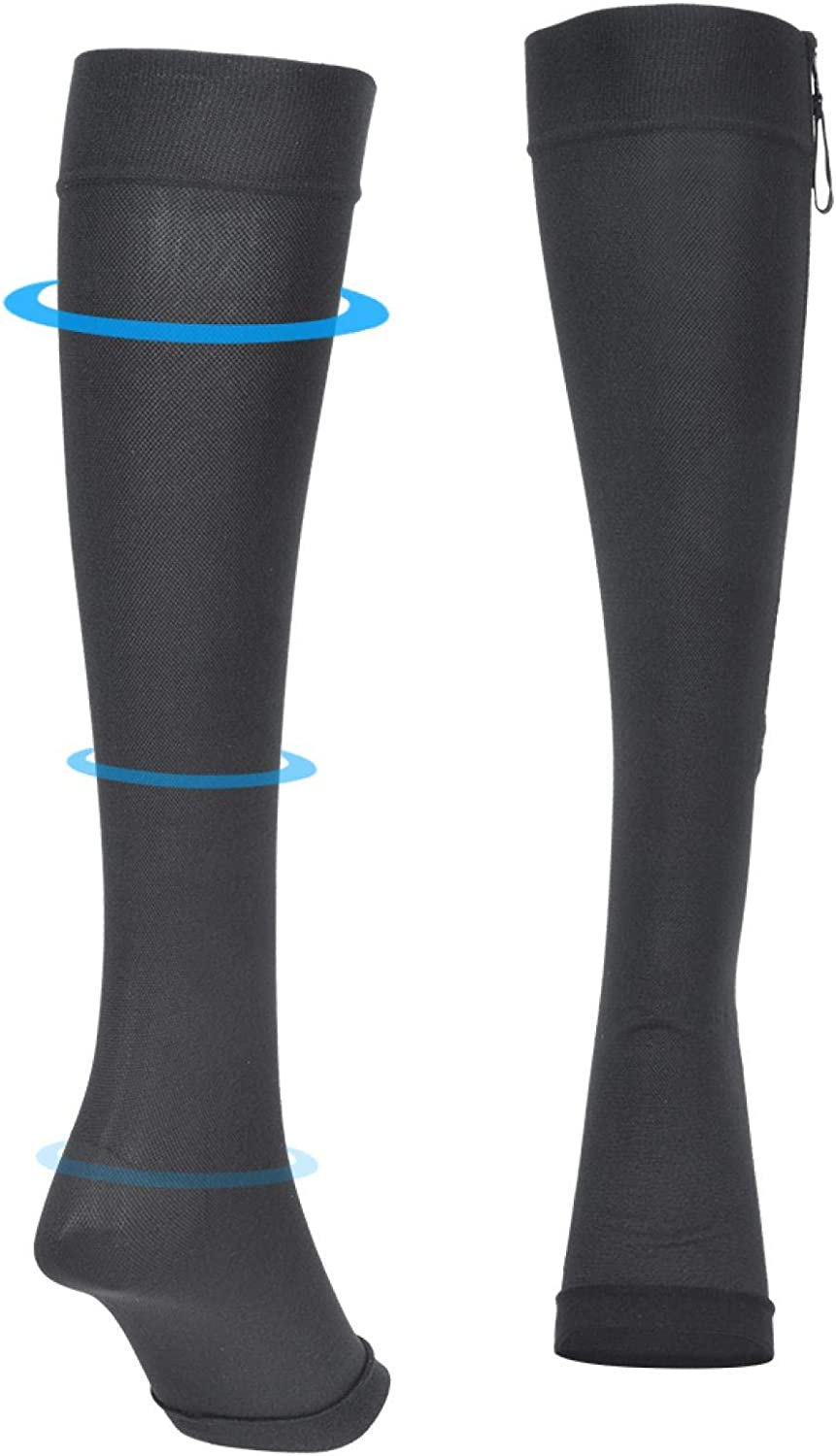 Shipenophy Compression Elastic with Sectional Black Sport Recommended Sacramento Mall Zipper