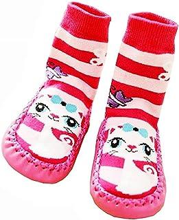 Lovelegis, Calcetines antideslizantes - zapatos - bebés - cálido - fantasía - gato - niños - unisex - Idea de regalo de cumpleaños