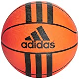 adidas 3 Stripes Mini Basket Ball, Unisex Adulto, Orange/Black