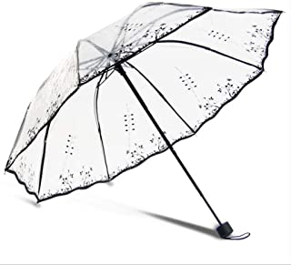 Color : Black WMS Umbrella Double Windproof Reinforcement Automatic Folding Umbrella Mens Female Large Rain and Rain Dual-use Sun Umbrella