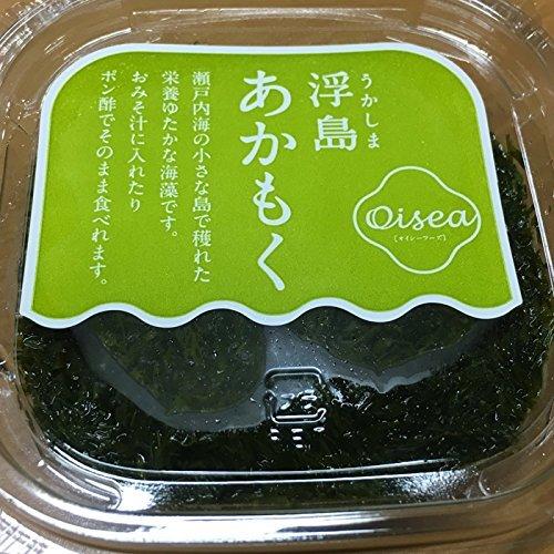 瀬戸内海産 あかもく( アカモク ぎばさ )( 山口県浮島産 ) (80gX35パック)