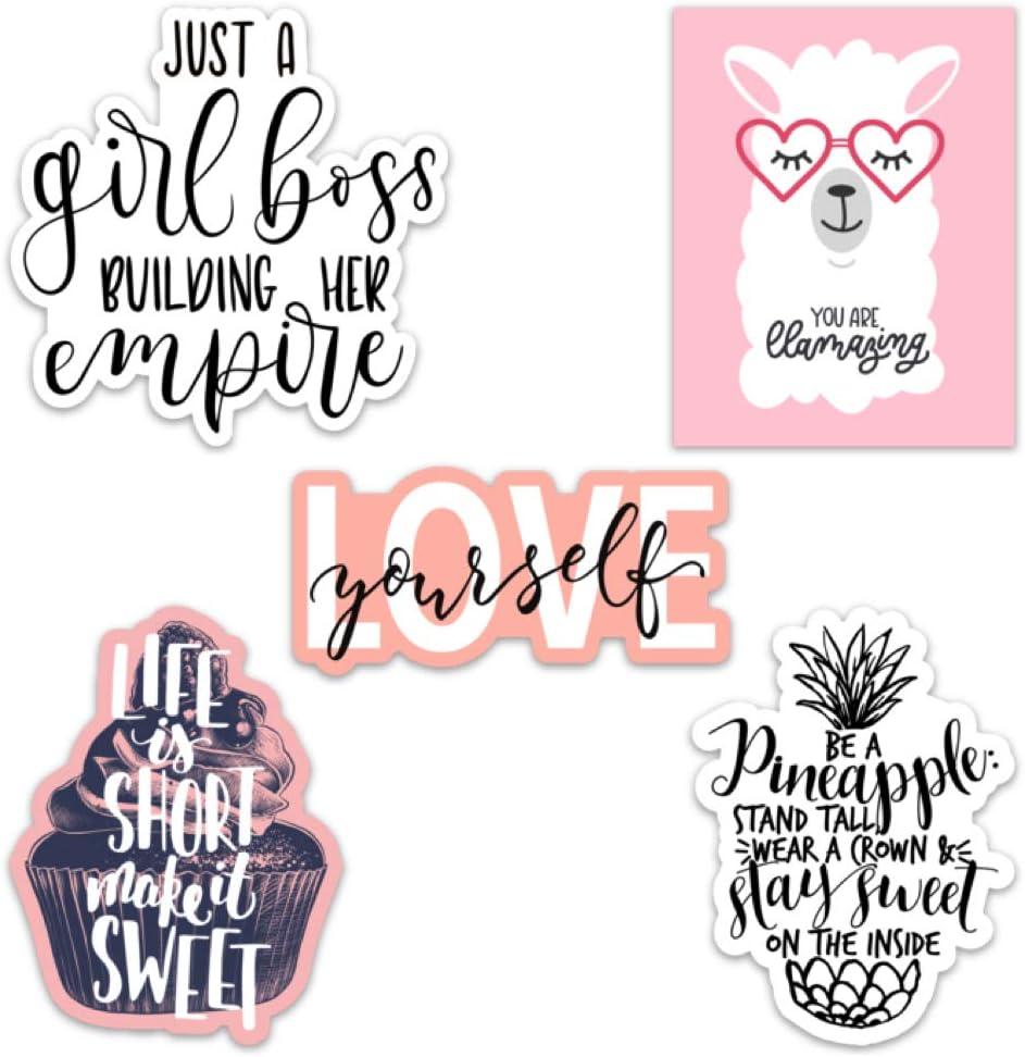 Amazon Com Cute Girl Inspirational Motivational Quote Aesthetic