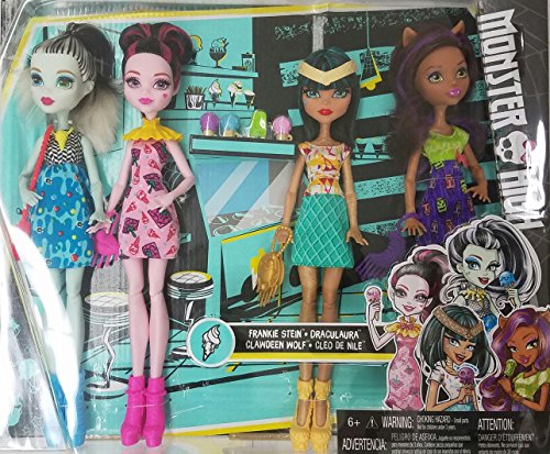 Monster High Ice Scream Ghouls Exclusive 4 Doll Set Buy Online In Cambodia Mattel Products In Cambodia See Prices Reviews And Free Delivery Over 27 000 Desertcart