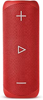 BlueAnt X2 Portable Bluetooth Speaker, Red (X2-RD)