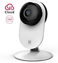 YI Cámara Vigilancia, Cámara IP Wifi 1080p Sistema de Seguridad de Full HD, Detección..