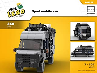 Sport mobile van (Instruction Only): MOC LEGO (English Edition)