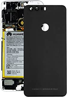 Battery cover JRC Battery Back Cover for Huawei Honor 8(Black) Mobile phone accessories (Color : Black)